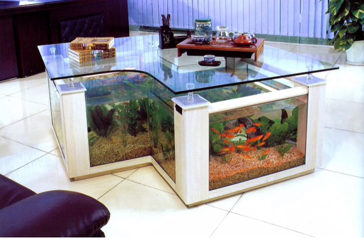 fish tank coffe table